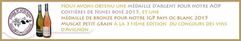 Concours des vins Foire d'avignon